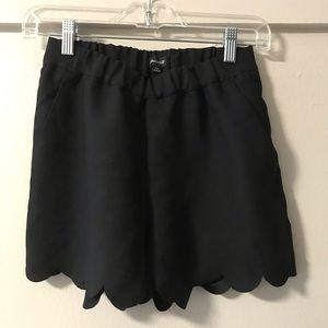 Madewell Scallop Cut Shorts